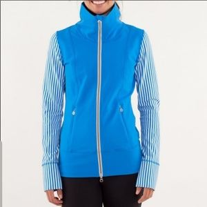 🎉Lululemon Polar Stripe Beaming Blue Jacket🎉